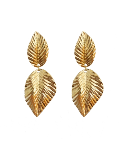 EARRINGS FEUILLES
