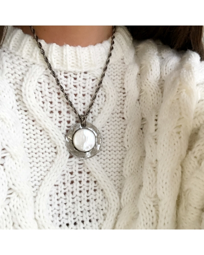 COLLIER GIPSY STONE