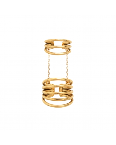 ARTICULATED RING HOOPS